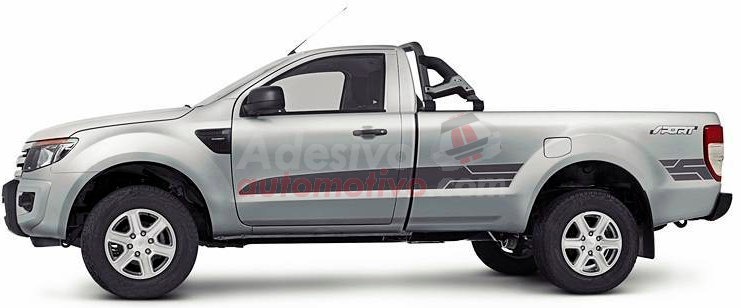Adesivo lateral Ford Ranger